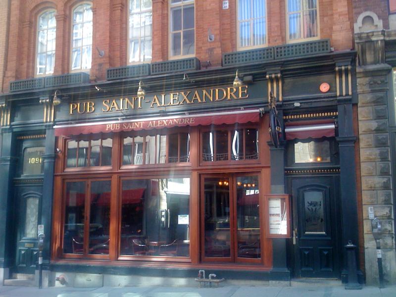 Saint-Alexandre Pub in Québec